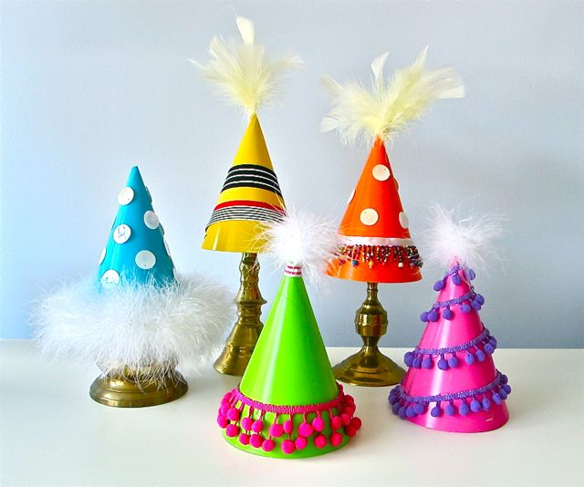 Superb Christmas Party Hat Ideas Part - 9: Last Week Julia Walked Into Our Bedroom Wearing A Plastic Kitchen Funnel On  Her Head And Singing U201cHappy Birthday.u201d Two Of Her Buddies Have Had Their  Second ...