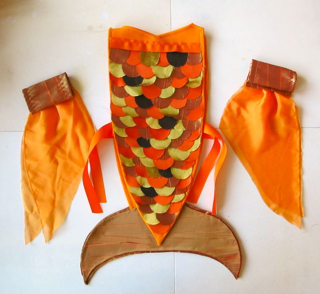 Easy Fish Costume Pattern http://dresew.com/fish-costume-pattern/