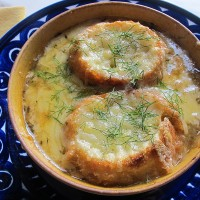 Fennel Soup Gratin